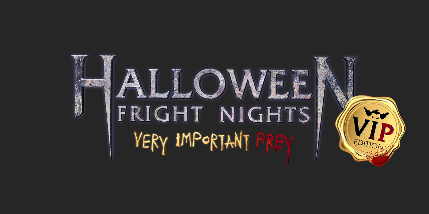 Logo Halloween Fright Nights VIP edition
